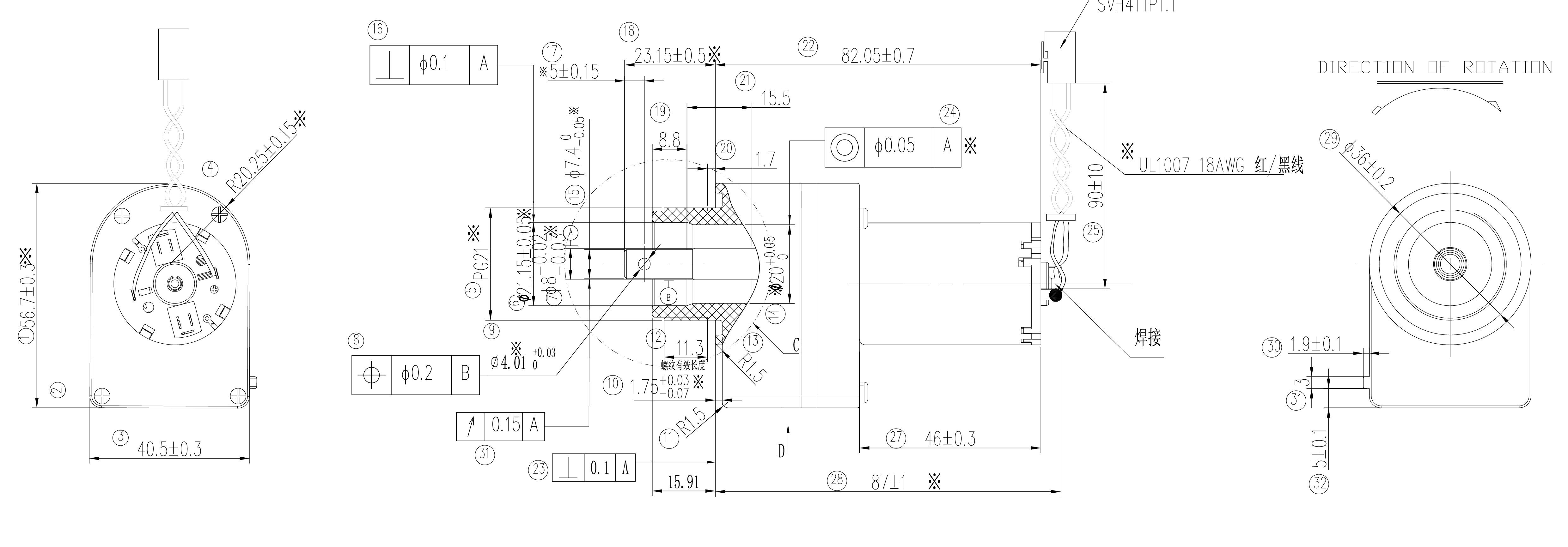 齿轮箱电动41JFS3146_Outline拉-01-01